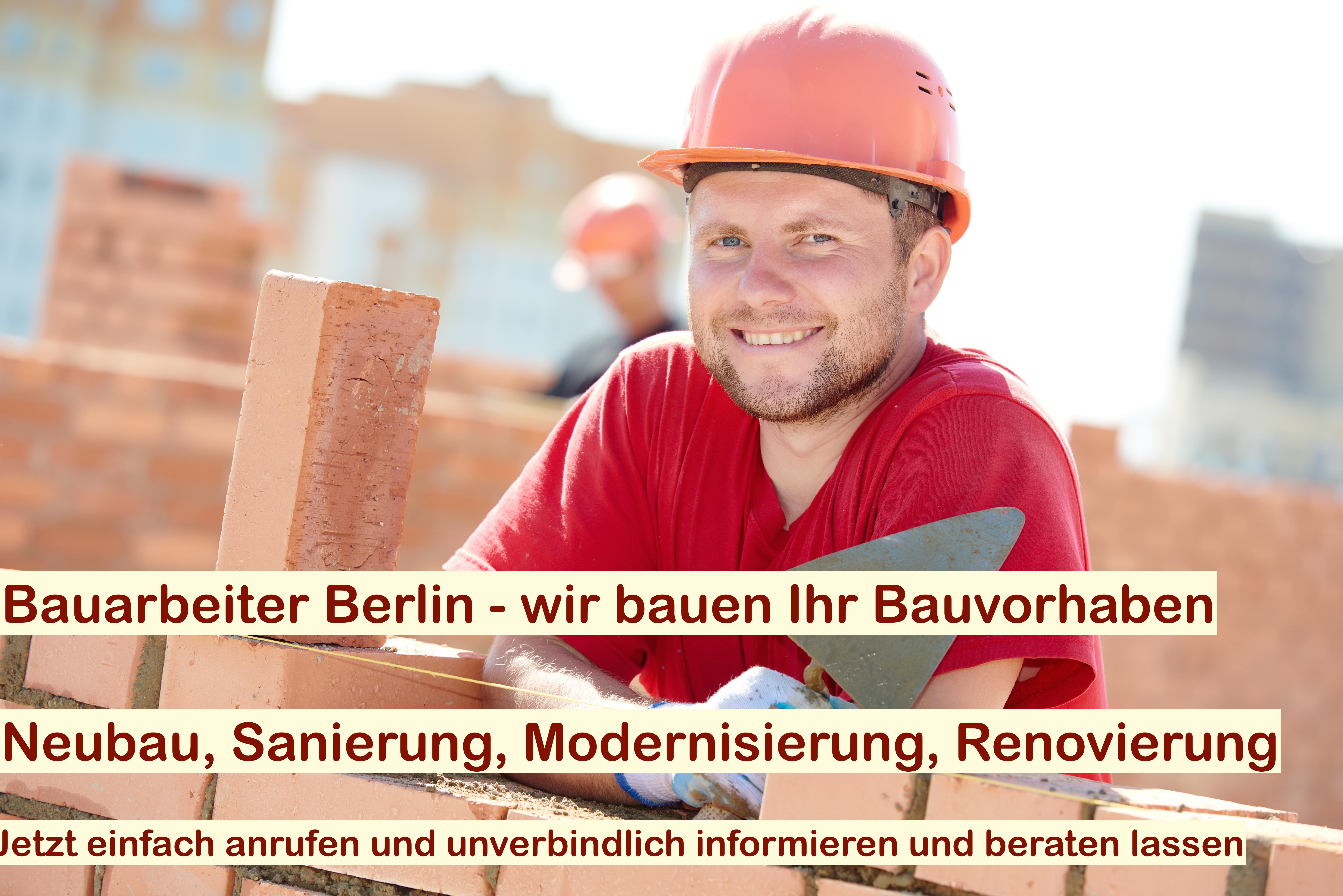 Bauhandwerker Berlin