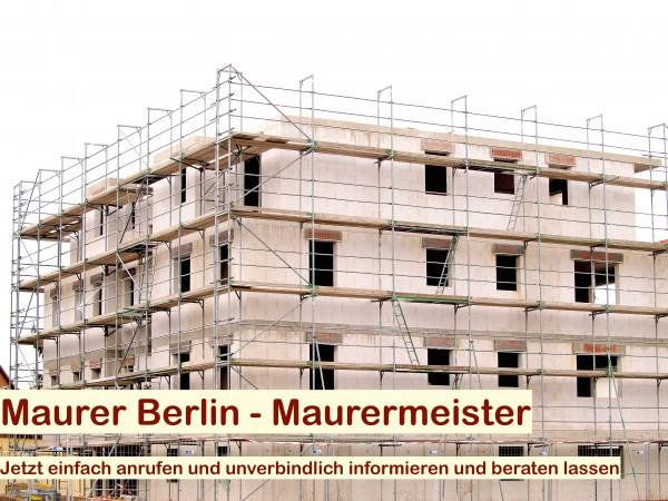 Maurer Berlin - Maurerarbeiten