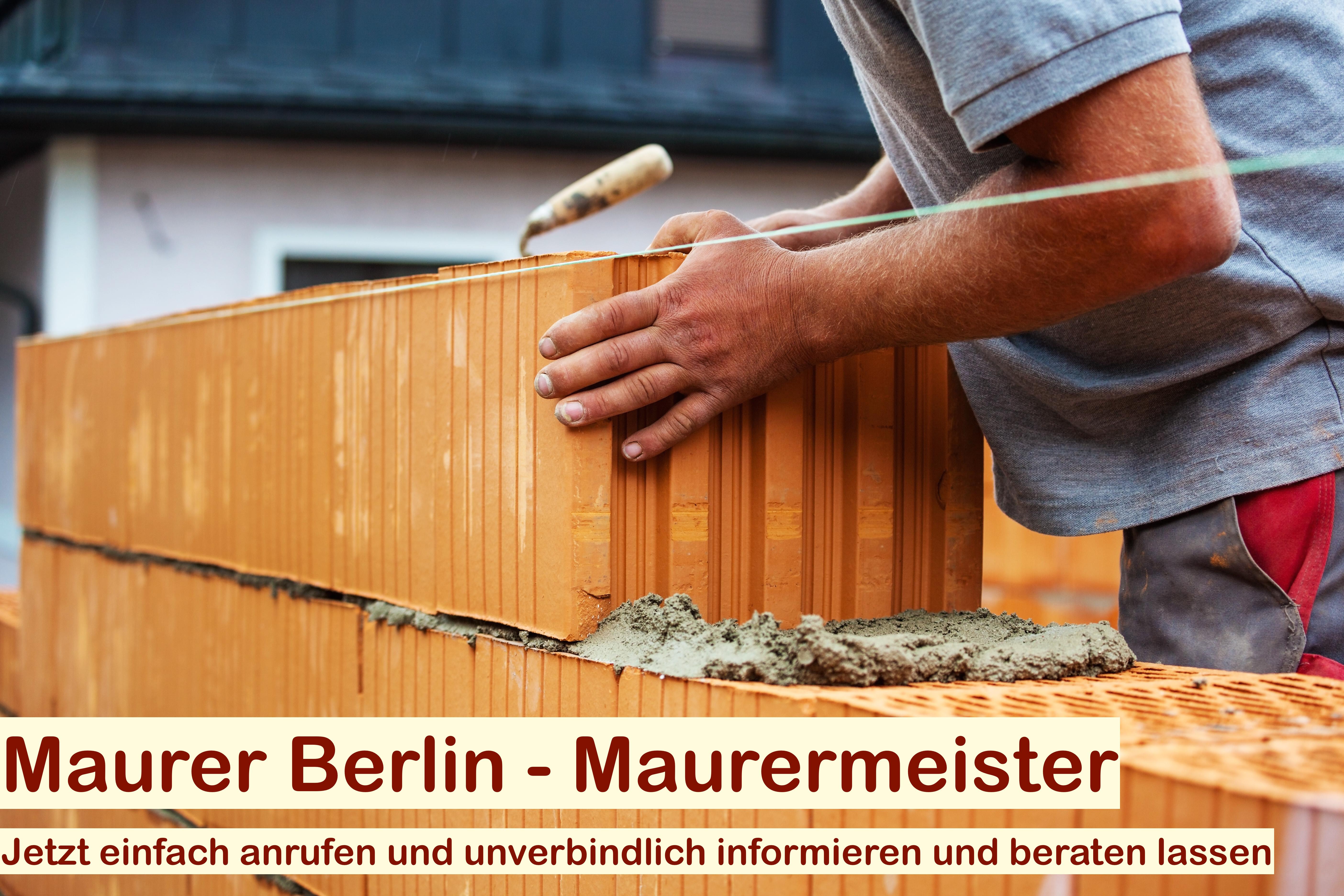Maurerarbeiten Berlin