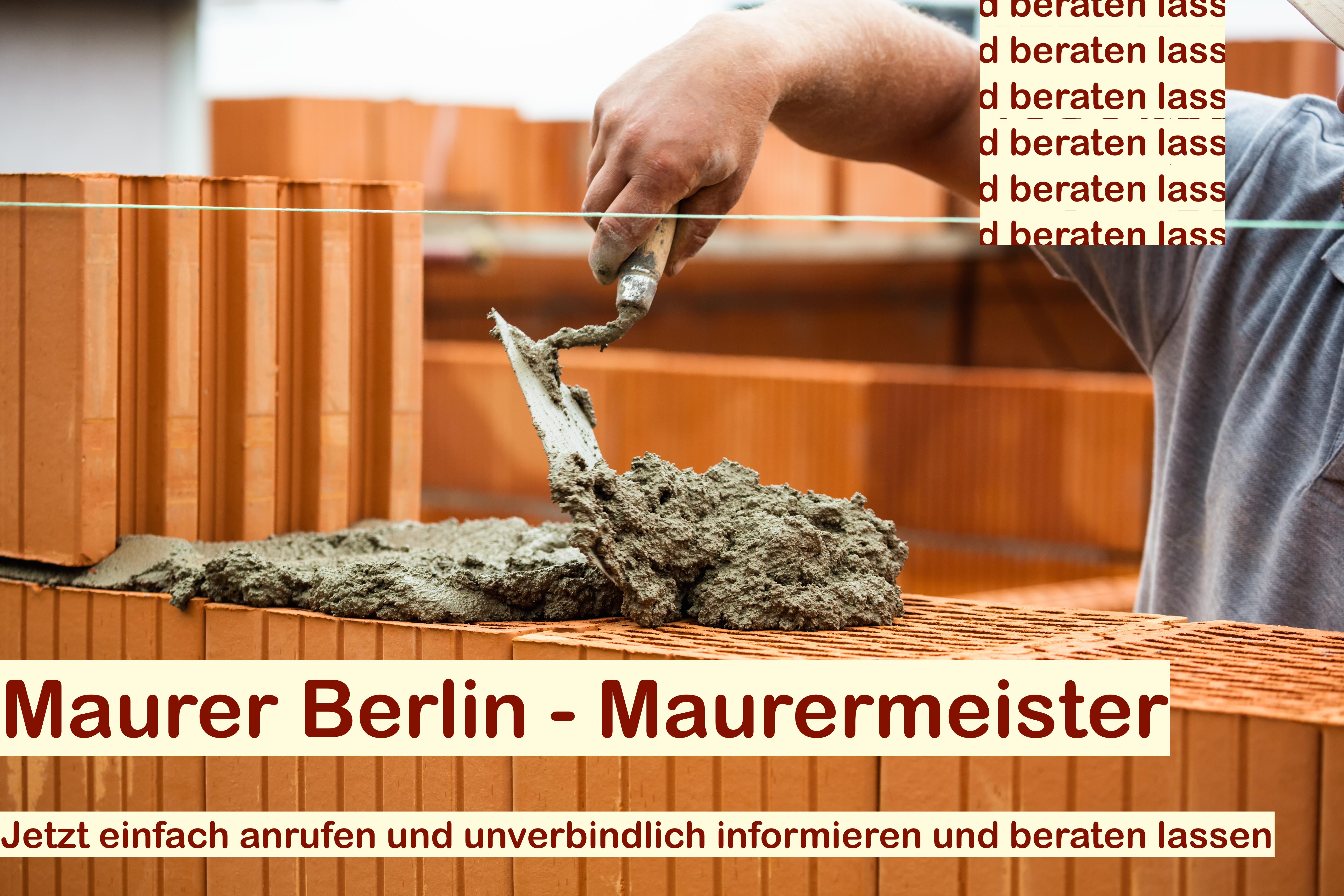 Suche Maurer Berlin  Maurermeister