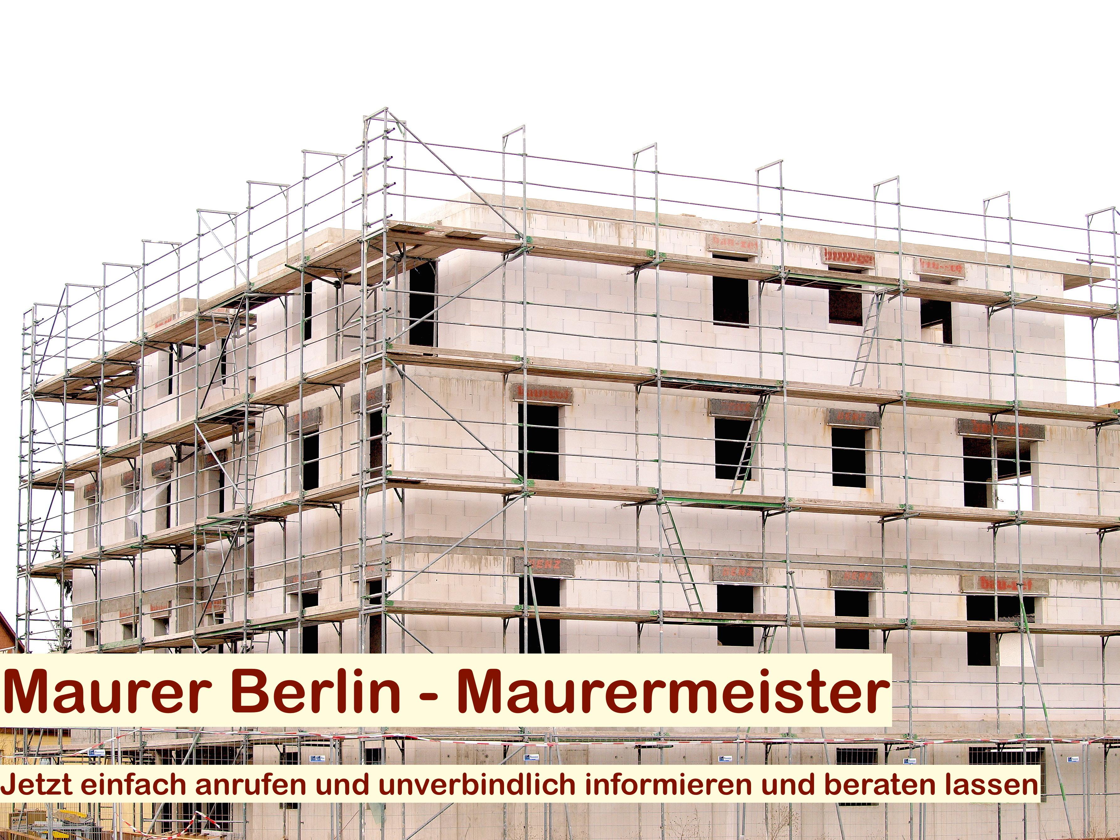 Suche Maurer Berlin