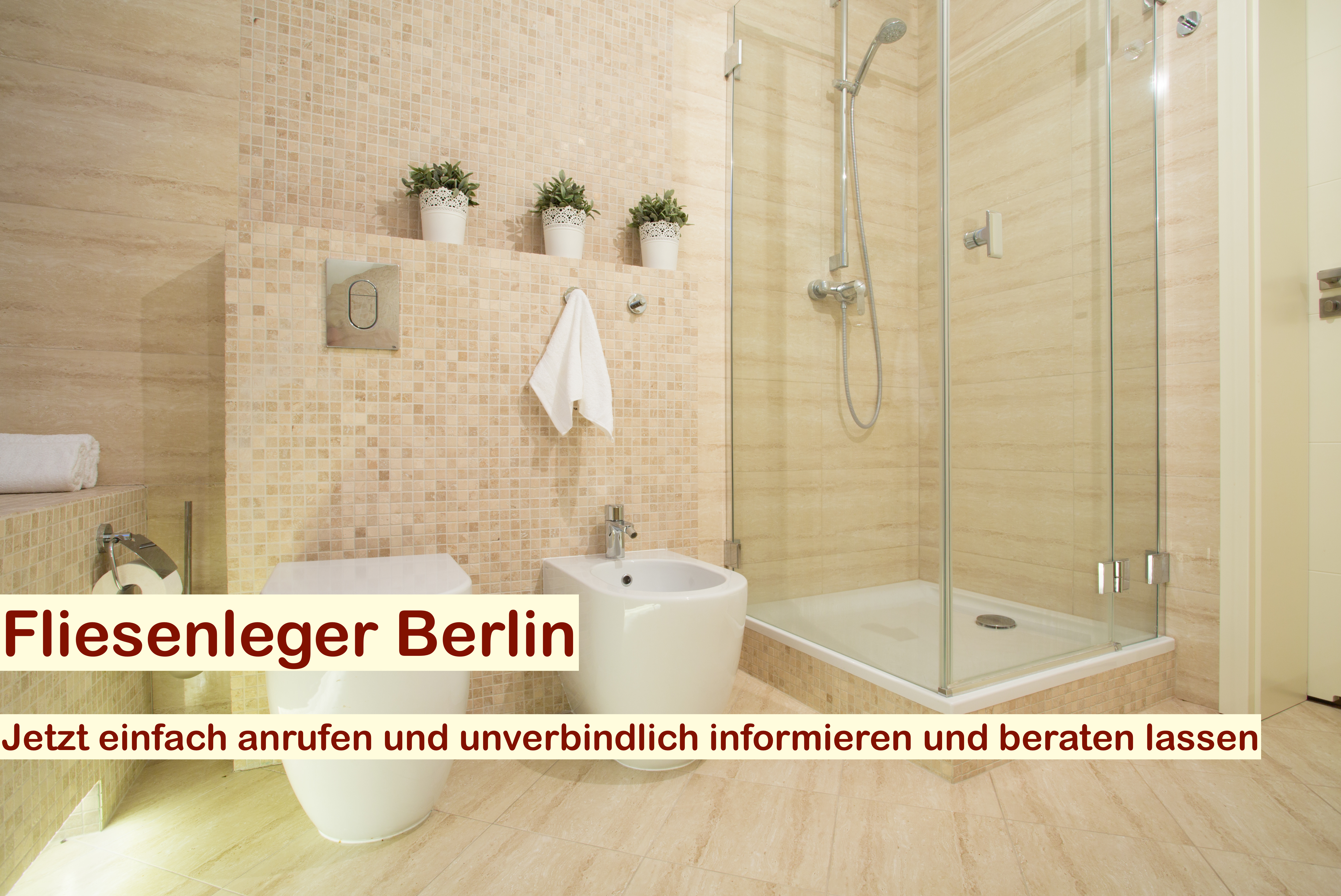 Fliesenleger Berlin - Fliesenlegearbeiten